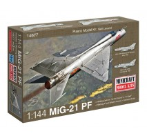 Minicraft 14677- 1:144 MIG-21 PF USSR with 2 marking options