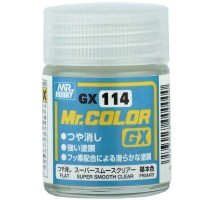 Mr. Hobby - GX Super Smooth Clear Flat (18ml)