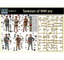 Masterbox 35134 - 1:35 Tankmen of WW I Era