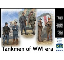 MB 35134 - Tankmen of WW I Era 1:35