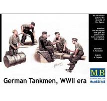 MB 35160 - German Tankmen, WW II era 1:35