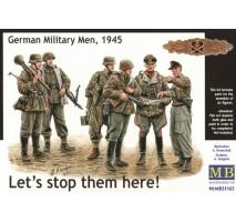 "MB 35162 - ""Let's stop them here!"" German Military Men, 1945 1:35"