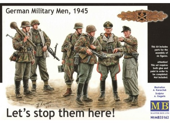 "MB 35162 - ""Let's stop them here!"" German Military Men, 1945 1:35"