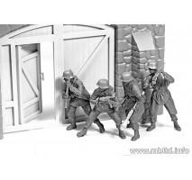 Masterbox 3584 - 1:35 German infantry Western Europe 1944-1945