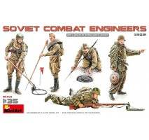 Miniart 35091 - 1:35 SOVIET COMBAT ENGINEERS - 5 figures