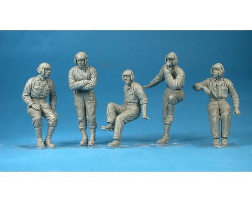 Miniart 35126 - 1:35 U.S. TANK CREW - 5 figures