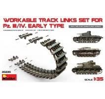 Miniart - Set senile tanc Panzer III/IV 1:35