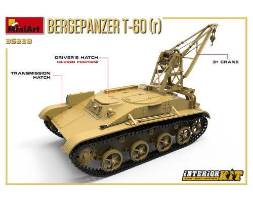 Miniart 35238 - 1:35 BERGEPANZER T-60 ( r ) (full interior)