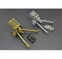 Miniart 35269 - 1:35 German Rocket Launcher with 28cm WK Spr & 32cm WK Flamm