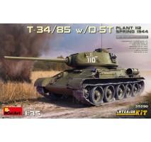 Miniart 35290 - 1:35 T-34/85 w/D-5T. PLANT 112. SPRING 1944. Interior Kit