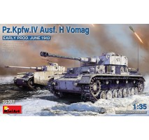 Miniart 35302 - 1:35 Pz.Kpfw.IV Ausf. H Vomag. Early Prod. (May 1943)