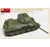 Miniart 35306 - 1:35 T-34-85 Composite Turret. 112 Plant. Summer 1944