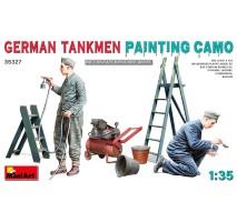 Miniart 35327 - 1:35 German Tankmen. Painting Camo