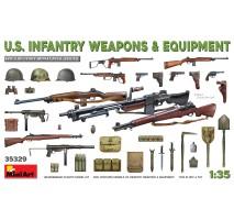 Miniart 35329 - 1:35 U.S. Infantry Weapons Equipment