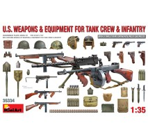 Miniart 35334 - 1:35 U.S. Weapons Equipment for Tank Crew Infantry
