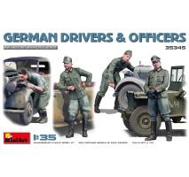 Miniart 35345 - 1:35 German Drivers Officers