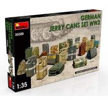Miniart 35588 - 1:35 German Jerry Cans Set WW2