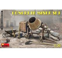 Miniart 35593 - 1:35 Concrete Mixer Set