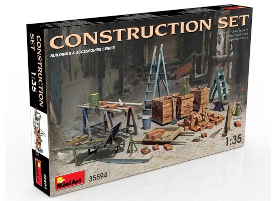 Miniart 35594 - 1:35 Construction Set