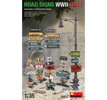 Miniart 35611 - 1:35 Road Signs WW2 Italy