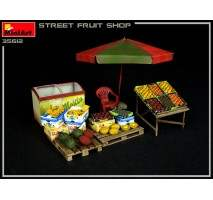 Miniart 35612 - 1:35 Street Fruit Shop