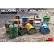 Miniart 35615 - 1:35 Modern Oil Drums 200l