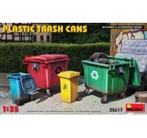 Miniart 35617 - 1:35 Plastic Trash Cans
