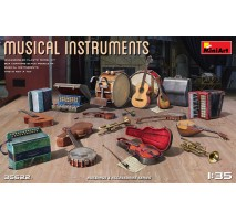 Miniart 35622 - 1:35 Musical Instruments