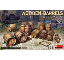 Miniart 35630 - 1:35 Wooden Barrels Medium Size