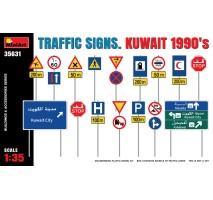 Miniart 35631 - 1:35 Traffic Signs. Kuwait 1990's