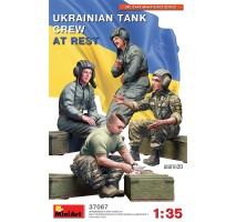 Miniart 37067 - 1:35 Ukrainian Tank Crew at Rest