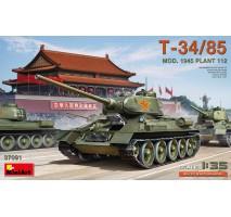 Miniart 37091 - 1:35 T-34/85 Mod. 1945. Plant 112