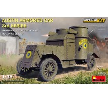 Miniart 39005 - 1:35 Austin Armored Car 3rd Series Romanian Service Full Interior Kit