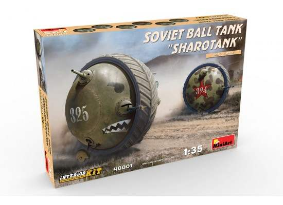 Miniart 40001 - 1:35 Soviet Ball Tank Sharotank Interior Kit