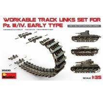 Miniart 35235 - WORKABLE TRACK LINKS SET FOR Panzer III/IV Early 1:35