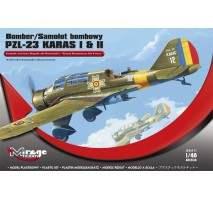 Mirage 481304 - BOMBER PZL-23 KARAS I & II Royal Romanian Air Force 1:48