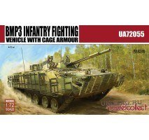 Modelcollect - 1:72 BMP3 INFANTRY FIGHTING VEHICLE WITH CAGE ARMOUR