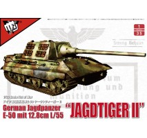 Modelcollect - 1:35 German E-50 Jagdtiger II