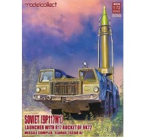 """Modelcollect - 1:72 Soviet (9P117M1) Launcher with R17 Rocket of 9K72 Missile Complex """"Elbrus"""" (SCUD B)"""