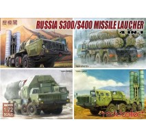 Modelcollect - 1:72 S-300/S-400 Missile launcher 4 in 1