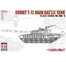 Modelcollect - 1:72 Soviet T-72 Main battle tank 1970s-1990s