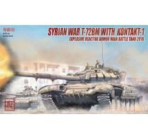 Modelcollect - 1:72 Syrian War T-72BM with Kontakt-1 ERA