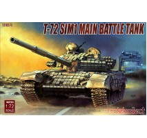 Modelcollect - 1:72 T-72 SIM1 Main Battle Tank