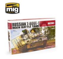 Modelcollect - 1:72 Russian T-80UE-1 Main Battle Tank