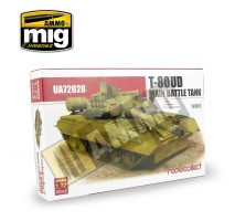 Modelcollect - 1:72 T-80UD Main Battle Tank