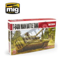 Modelcollect - 1:72 T-64AV Main Battle Tank