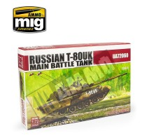 Modelcollect - 1:72 Russian T-80UK Main Battle Tank