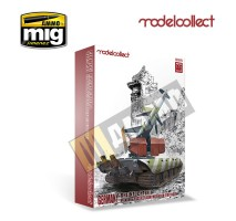 Modelcollect -  1:72 GERMANY RHEINTOCHTER 1 MOVABLE MISSILE LAUNCHER with E100 BODY