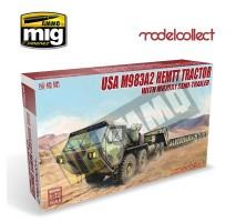Modelcollect - 1:72 USA M983A2 HEMTT TRACTOR & M870A1 SEMI-TRAILER