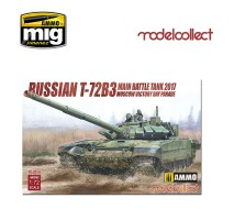 Modelcollect - 1:72 Russian T-72B3 Main Battle Tank 2017 Moscow Victory Day Parade